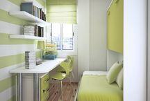Small bedroom ideas / by Kim Gatenby