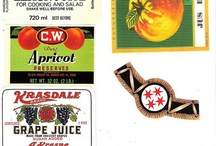 etiquetas comida y bebida.