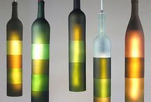crafting Wine Bottels / Recycled Glass