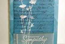 Cards-Sympathy  / by Cindy Hehmann