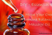 essential oils ...