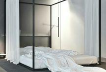 perdeli yatak
