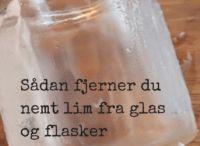 Aftage mærker på glas