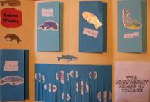 Kindergarten lapbook ideas / by Missy Kheng