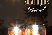 Pretty solar lights