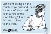 It's the wine talking