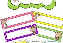 Classroom - Monkeys