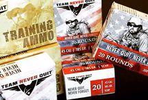 Team Never Quit Ammunition / Ammo - TNQ brand