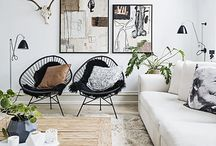 Black & White interiors / by tamara matthews-stephenson (NestbyTamara)