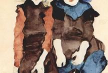 arte - Egon Schiele (1890-1918) / arte - pittore e incisore austriaco