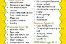 Kid Chores & Discipline
