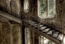 Opuštěné domy....