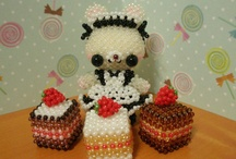 CUTE 3D BEADED DOLLS