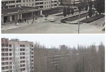 Pripiat/Припять / The city was founded in 1990 and dissolved in 1986. It was a city for workers (and not only) of Chernobyl. Before the catastrophe, 47,500 people lived. Now is the abandoned city of spectrum.