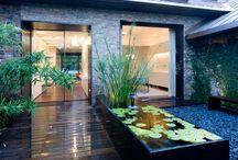 Garden and entry / Kootingal pool area garden entry photos