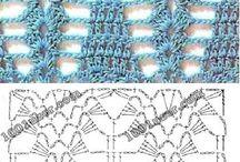 Wzory schemat szydełkowe