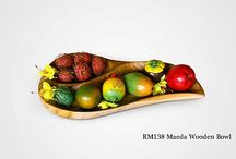 Wooden Bowl - Wooden Plate - Wooden Tray
