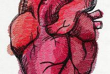 Heart / Il cuore.. Ciò che ci tiene in vita.. Ma solo quando è esplosione di emozioni, senzazioni, colori, fiori, creatività, affetto, amore... allora ci fa sentire VIVI