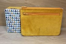 Pochette cuir made in France