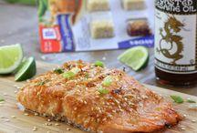 Fish / Asian sesame salmon