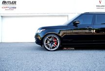 "Black Range Rover l Vellano VKJ 24"" Concave / Stunning Range Rover rolling on a set of beautiful Vellano VKJ 24"" Concave"