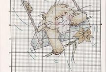 CS - Solo Cat / punto croce