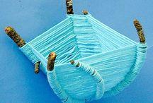 Nature crafts/Basteln mit Naturmaterialien
