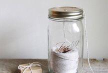 Mason jar inspiratie / Wat je allemaal voor leuke dingen kunt doen met Mason Jars!