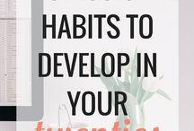 Habbits goals