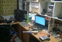 My workshop / moje dílna
