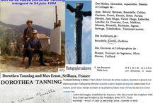 #MAXERNST #DOROTHEATANNING #ALAINGIRELLI à #SEILLANS FRANCE / Max ERNST peintre-sculpteur (1891-1976) a passé les douze dernières années de sa vie à Seillans avec son épouse Dorothea TANNING. _Le Génie de la Bastille est un bronze de Max Ernst, don de sa veuve Dorothea Tanning, inauguré le 24 juin 1994, sur la place de la République _ «  Alain GIRELLI est un artiste référencé dans le Bénézit depuis 1999. Il a assisté Max Ernst à SEILLANS (France) en 1970 pour « Red Forest ».