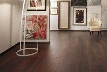 Pisos laminados, madeira e porcelanato / Sugestões e idéias para os pisos das área íntima