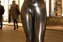 shiny latex
