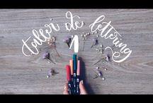 Lettering,caligrafía