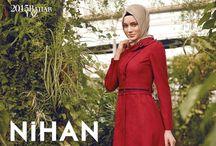 Nihan 2013 Pardesü Modelleri / Nihan 2013 Hijab Fashion