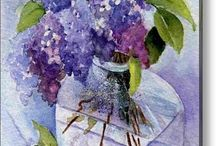 Lilacs-purple bursts of joy / by Barbara