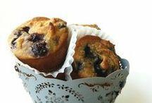 blueberrie almond muffins