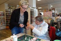 Workshop Angela 6 december 2014 / Op 6 december 2014 geeft Angela een workshop bij Doe@ding.