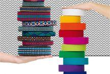 Λαστιχα για διάφορες χειροτεχνίες / Με τα λάστιχα ζακαρ της Prym μπορείτε να:  .Διακοσμήσετε μπλουζάκια Φτιάξετε ζώνες Διακοσμήσετε εσπαντρίγιες Φτιάξετε μπρελοκ & βραχιολάκια Διακοσμήσετε τσαντάκια, καπέλα και θήκες κινητών/tablets Τα πολύχρωμα φάρδος 2,5 εκατοστών=1.70 το μέτρο. Και 5 εκατοστών=2.85 το μέτρο. Τα μονόχρωμα σε τόπια. φάρδος 3,8 εκατ.=4,90 το μέτρο.Γιούλη Μαραβέλη τηλ:2221074152  Χαλκίδα