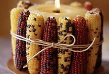 Harvest / Creative and easy ways to decorate for Fall and Thanksgiving