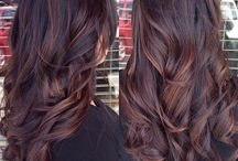 Brunette babes / Gorgeous brunette hair we think are on trend.