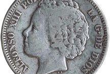 Monedas 2 Pesetas-Plata
