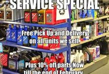 Service / Specials on Service !!!