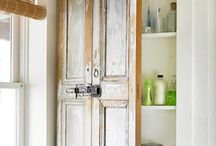 Repurposing Ideas {Bathroom} / Repurposing and upcycled ideas and inspiration for your bathroom.