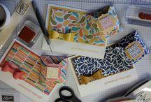 Sets - Karten u Boxen / Stampin' Up! Sets mit Karten und Boxen; Stampin' Up! Sets with Cards and Boxes