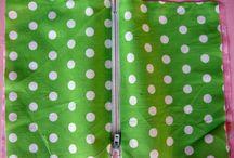 Zipper bag / Inserting a zip in a bag