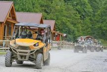 Hatfield McCoy - Trails Heaven / One of the best things about the Hatfield-McCoy system is they make your adventure easy. Expect friendly towns and places to stay with full trail access right from your camp or cabin. Try the Cowshed Motel, or Ashland ATV Resort