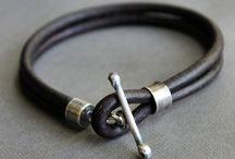 Bijoux : cuir - leather / Bijoux cuir