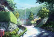 Anime ambient / Anime, ambient, BG