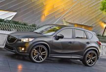"MAZDA CX-5 / ""With its spacious, functional interior, impressive fuel economy and top safety scores, the 2015 Mazda CX-5 is a top pick among small crossovers. The fact that it's also fun to drive comes as a bonus."" -Edmunds"